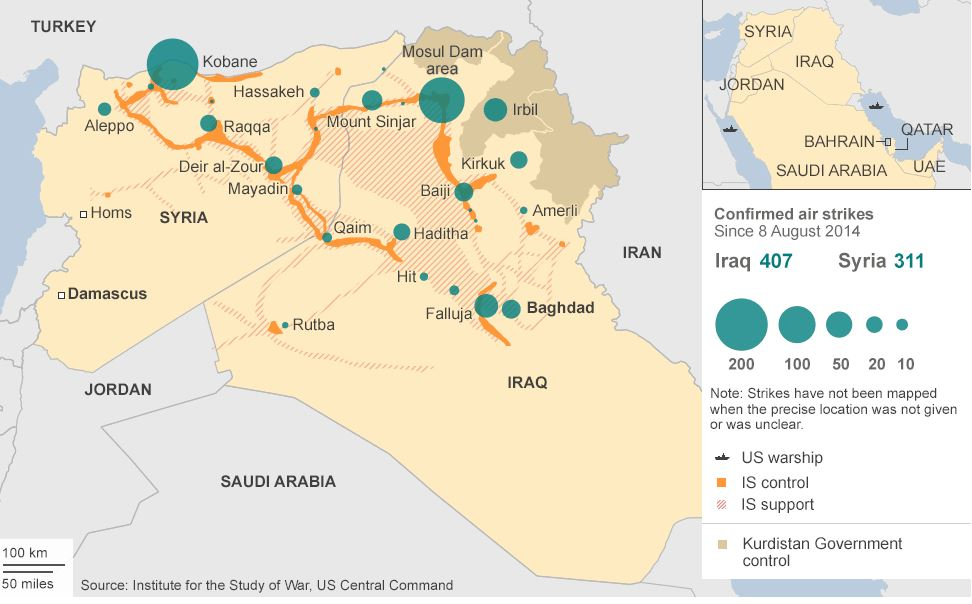 ISIS-Battle Map