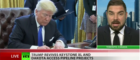 Trump Revives Keystone and Dakota Access Pipelines