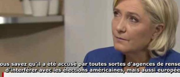 Watch Marine Le Pen Slam CNN False Narrative on Crimea