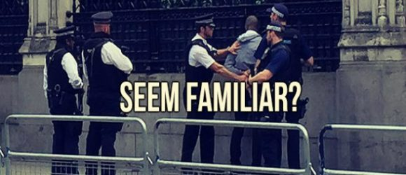 STRANGE INCIDENT: Man Arrested Outside Westminster Palace On Suspicion Of Carrying Knife