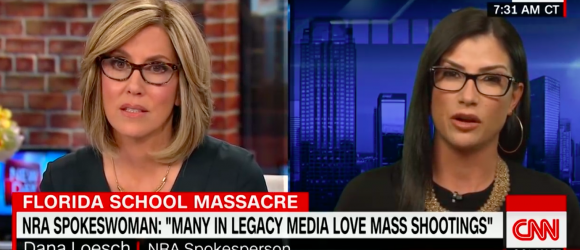 NRA Spokeswoman to CNN: 'Many in the media like the ratings aspect of mass shootings'