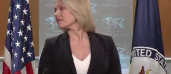 Nauert Nonsense: U.S. State Dept Spox 'Plays Dumb' on White Helmets Funding Question