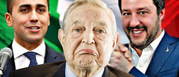 Soros Blames Putin & Russia for Italy's New 'Anti-EU and Anti-immigrant' Coalition Government