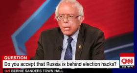 An Open Letter to Bernie Sanders: 'No Bernie, It Wasn't the Russians'
