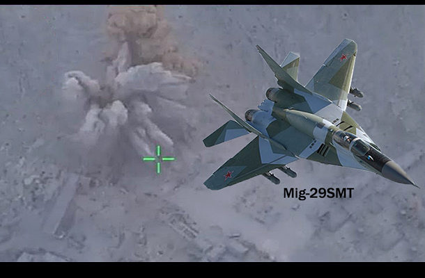 Russian Air Force Unleashes Wave of Strikes on ISIS in Eastern Syria